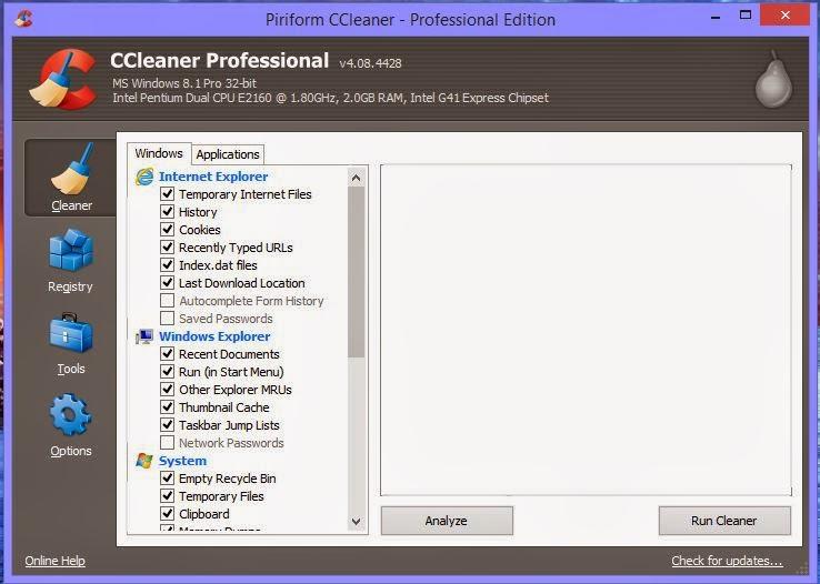 ccleaner professional crack ita